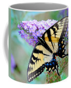 Eastern Tiger Swallowtail On Butterfly Bush Coffee Mug