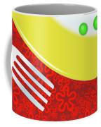 Eat Your Peas Coffee Mug