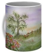 Echinacea And Crooked Fence Coffee Mug