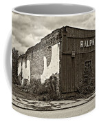 Economics 101...dreams Die Sepia Coffee Mug