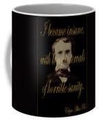 Edgar Allan Poe 2 Coffee Mug
