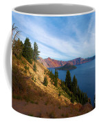 Edge Of The Crater Coffee Mug