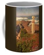 Edwardian Lady By The Sea Coffee Mug