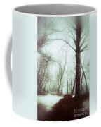 Eerie Winter Woods Coffee Mug