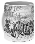 Effects Of Emancipation Proclamation Coffee Mug by Photo Researchers