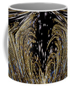 Effervescent Golden Arches Abstract Coffee Mug by Carolyn Marshall