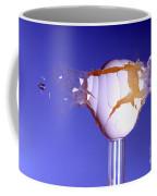Egg Hit By A Bullet Coffee Mug