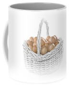 Eggs In A Woven Basket No.0064 Coffee Mug