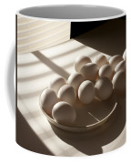 Eggs Lit Through Venetian Blinds Coffee Mug