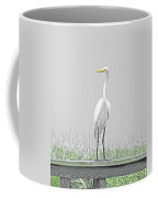 Egret Rockefeller Wma Louisiana Coffee Mug