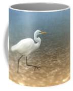 Egret Stroll Coffee Mug