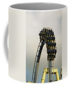Egypt-montu Rollercoaster At Busch Coffee Mug