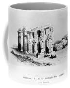 Egypt: Ramesseum Coffee Mug
