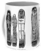 Egypt: Royal Mummies, 1882 Coffee Mug by Granger