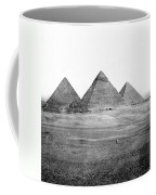 Egyptian Pyramids - C 1901 Coffee Mug