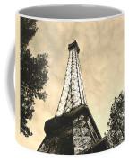 Eiffel Tower At Dusk Coffee Mug