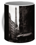 Eiffel Tower Black And White 2 Coffee Mug