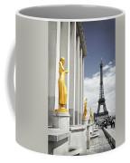 Eiffel Tower From Trocadero Coffee Mug