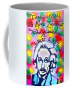 Einstein Imagination Coffee Mug