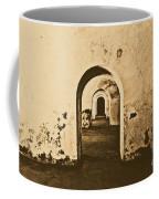El Morro Fort Barracks Arched Doorways San Juan Puerto Rico Prints Rustic Coffee Mug
