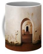 El Morro Fort Barracks Arched Doorways San Juan Puerto Rico Prints Coffee Mug