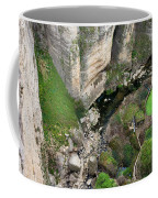 El Tayo River Gorge In Ronda Coffee Mug
