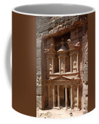 Elaborate Sandstone Temple Or Tomb Coffee Mug by Luis Marden