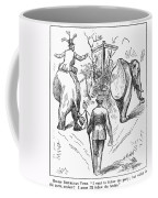 Election Cartoon, 1884 Coffee Mug