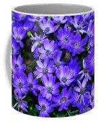 Electric Indigo Garden Coffee Mug