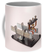Electric Motor Coffee Mug by Ted Kinsman