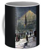 Electric Streetlight, 1881 Coffee Mug