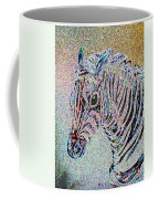 Electric Zebra Coffee Mug