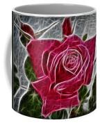 Electrostatic Rose Coffee Mug