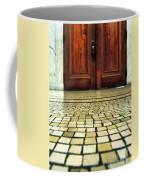 Elegant Door And Mosaic Floor Coffee Mug