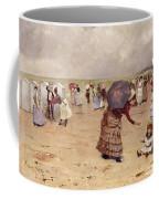 Elegant Figures On A Beach Coffee Mug