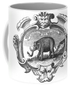 Elephant, 17th Cent Coffee Mug