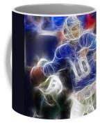 Eli Manning Ny Giants Coffee Mug by Paul Ward