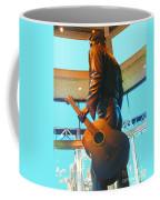 Elvis In Bronze At Memphis Coffee Mug