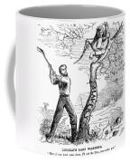 Emancipation Cartoon, 1862 Coffee Mug