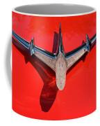 Emblem On Red 2 Coffee Mug