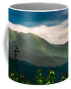 Emerald And Gold Coffee Mug