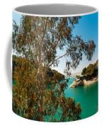 Emerald Lake With Duke House I. El Chorro. Spain Coffee Mug