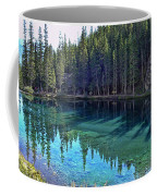 Emerald Mountain Pond Coffee Mug