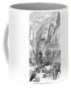 Emigrants To The West, 1865 Coffee Mug