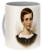 Emily Dickinson, American Poet Coffee Mug by Photo Researchers