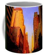 Empire State Building Sunset Coffee Mug