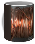 Enamel Coated Copper Wire Coffee Mug by Photo Researchers