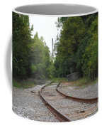 End Of The Rail Coffee Mug