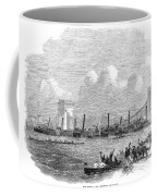 England: Boat Race, 1858 Coffee Mug