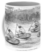 England: Coracle Race, 1881 Coffee Mug